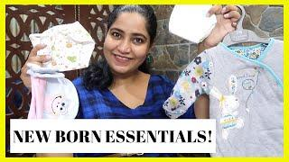 New Born Essentials || SAB KUCH JO CHAHIYE ! | Everything You Need | 0 - 3 Months || Hindi