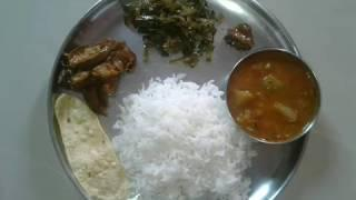 Lunch menu recipes / lunch ideas / Simple lunch menu / lunch routine in tamil