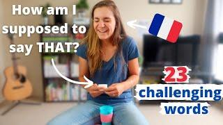 Stump the French Girl: 23 weird and difficult English words to pronounce - Hilarious!