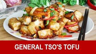 General Tso's tofu - How to cook in 3 simple steps (great vegetarian dish)
