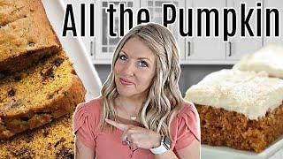 3 EASY Pumpkin Desserts to Make this Fall!