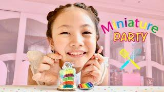 Bug's Miniature Party using Tiny Kitchen