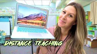 A Day in the Life of Distance Teaching!