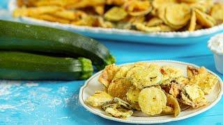 Greek Style Zucchini Chips: A Crispy & Delicious Appetizer