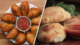 How To Make Crispy & Cheesy Calzones