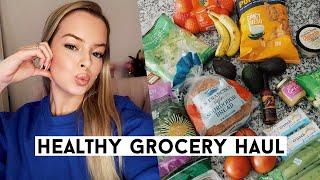 Healthy Grocery Haul On A BUDGET (get healthy af with me)