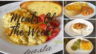 What's for tea this week? Meals of the week 31st August - 6th September :)