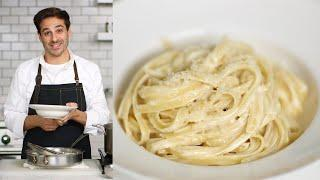How to Avoid Thick and Pasty Alfredo Sauce - Kitchen Conundrums with Thomas Joseph