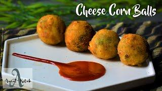 Cheese Corn Balls | Party Appetizer Recipe | Chef Aanal Kotak
