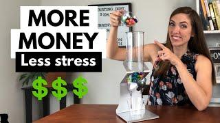 MORE MONEY, Less Stress: Building a BUFFER of Money in your Bank Account Balance