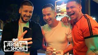 Will Angelina Leave Her Bachelorette Party Before the Boys Crash It? | Jersey Shore: Family Vacation