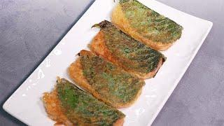 Sesame Leaf Spam Pancake / 깻잎 스팸전