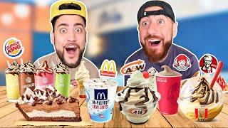Who Makes The BEST Fast Food DESSERTS?!