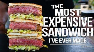 The Most Expensive Sandwich I've Ever Made - Wagyu Katsu Sando | SAM THE COOKING GUY 4K