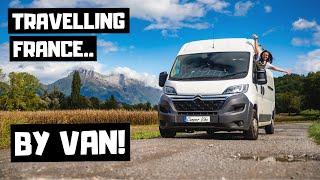 FRENCH TRAVEL VLOG...  travelling through europe in a campervan.. how easy is it??  Vanlife europe!