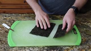 The Sound of Food: Making Spam Musubi