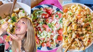 3 EASY vegan BBQ Side Dishes (for lazy people)