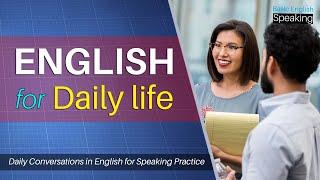 English For Daily Life - Speak English fluently with Free Spoken English Conversation lessons