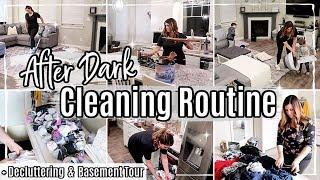 New! AFTER DARK CLEAN WITH ME 2020 :: CLEANING ROUTINE | HOMEMAKING, DECLUTTER + CLEANING MOTIVATION