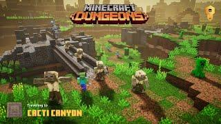 Minecraft Dungeons - Searching for the Desert Temple in Cacti Canyon (Xbox One Gameplay)