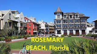 Rosemary Beach, Florida tour around town, beautiful vacation destination.