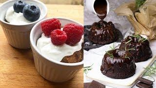 Healthy Dessert Recipes | Healthy Desserts For Kids | Easy Healthy Desserts