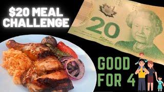 Anyone can make this CHEAP EASY RECIPE | $20 MEAL for 4 | Grilled Chicken