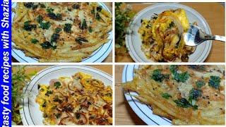 5 minutes recipe|instant recipe|quick and easy breakfast by tasty food recipes with Shazia|