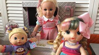BABY ALIVE Restaurant Lunch Routine