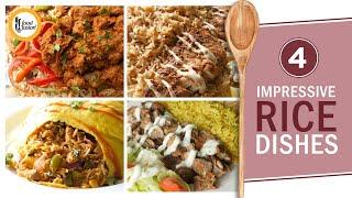 4 Impressive Rice Dishes - Recipes By Food Fusion