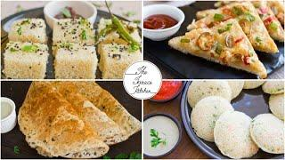 4 Easy Sooji/Rava Recipes | Sooji Recipes with Easily Available Ingredients ~ The Terrace Kitchen