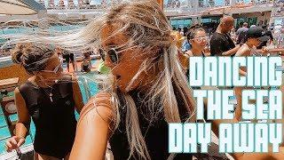 DANCING THE SEA DAY AWAY | EPIC OUTDOOR DANCE PARTY ON CRUISE SHIP IN CARIBBEAN SEA