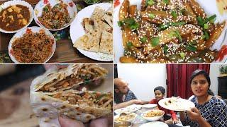 Made So Yummy Indo-Chinese Dinner...Noodles Wrap Recipe..Chili Potato..Chili Paneer | Dinner idea's