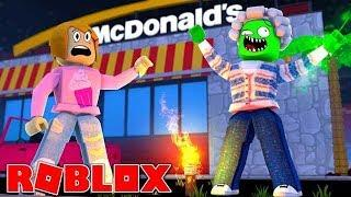 Roblox | My Grandma Turned Into A Zombie At McDonalds!