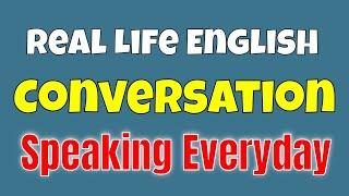 Real Life English Conversation ★ You Can Improve Your English by Practicing Speaking Everyday ✔