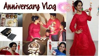 Wedding anniversary Vlog | Surprise gifts | Vlog in Tamil | Wife surprises husband | diml