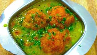 Bonda Soup Recipe/ South Indian Recipes/ quick breakfast recipes/ Rainy season recipes in hindi