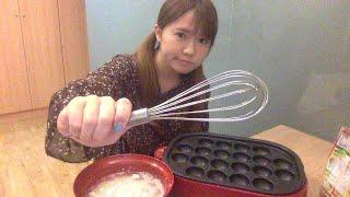 Lets make Takoyaki Japanese food during the live stream