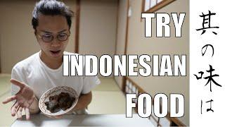 【Ramadan DAY 8】Japanese try to eat Indonesian Food【Japanese Muslim】 (English dubbed)