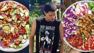 WHAT I ATE TODAY || SATISFYING & DELICIOUS HIGH PROTEIN VEGAN MEALS