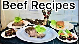 Beef Recipes Tutorial:How to make Beef Recipes(a range of beef dishes; Nigerian, American & English)