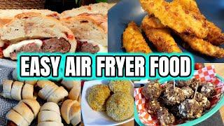 AIR FRYER RECIPES ~ WHAT TO COOK IN YOUR AIR FRYER ~ HALLOWEEN/PARTY IDEAS