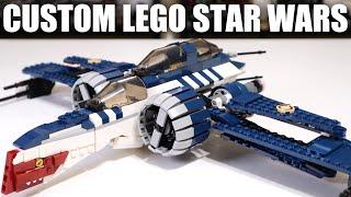 EPIC LEGO Star Wars Muunilinst 10 ARC-170! One BAD Thing Though...