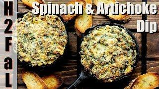 Appetizers | CLASSIC SPINACH AND ARTICHOKE DIP | How To Feed a Loon