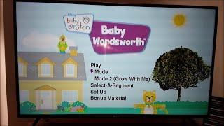 Baby Einstein  - Baby Wordsworth 2009 DVD Menu