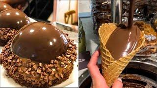 How To Make Chocolate Desserts With Step By Step Instructions | Easy Chocolate Cake Decorating Ideas