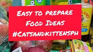 EASY TO PREPARE FOOD IDEAS PINOY