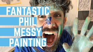 Phil's Children's Parties | Fantastic Phil Epic Messy Paint Play Teaser Video