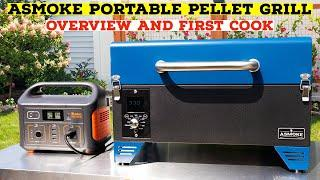ASMOKE Pellet Grill Overview And First Cook