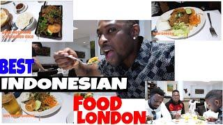 Trying Indonesian food in London | London Bars & Restaurants review | QUEST FOR THE BEST with Shady